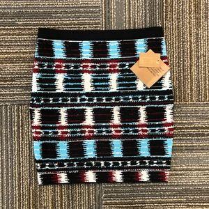 Rachel Roy Bodycon Mini Sweater Skirt